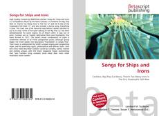 Buchcover von Songs for Ships and Irons