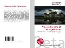 Copertina di Princess Carolina of Orange-Nassau