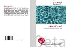 Capa do livro de Aleks Carmel