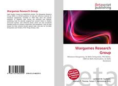 Bookcover of Wargames Research Group