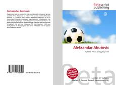 Bookcover of Aleksandar Abutovic