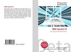 Capa do livro de IBM System R