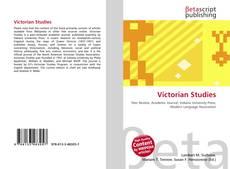 Bookcover of Victorian Studies
