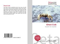 Bookcover of Ghost Crab