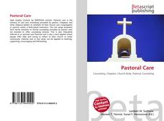 Pastoral Care kitap kapağı
