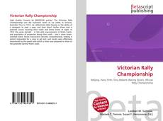 Bookcover of Victorian Rally Championship