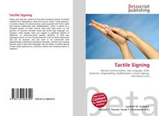 Bookcover of Tactile Signing