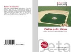 Portada del libro de Pastora de los Llanos