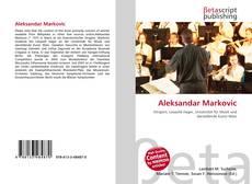 Aleksandar Markovic kitap kapağı