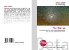 Tony Barros的封面
