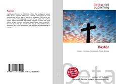 Bookcover of Pastor