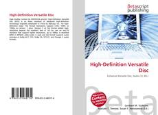 Bookcover of High-Definition Versatile Disc