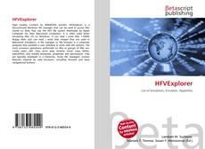 Bookcover of HFVExplorer