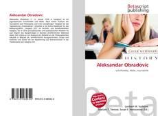 Capa do livro de Aleksandar Obradovic