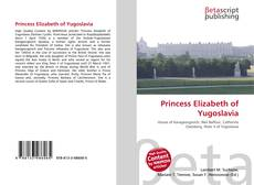 Bookcover of Princess Elizabeth of Yugoslavia