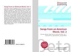 Buchcover von Songs From an American Movie, Vol. 2