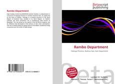 Rambo Department kitap kapağı