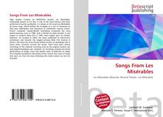 Bookcover of Songs From Les Misérables