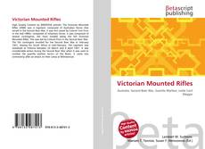 Capa do livro de Victorian Mounted Rifles