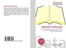 Обложка Badische Verfassung