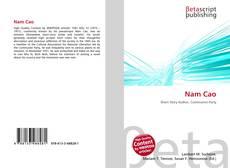Bookcover of Nam Cao