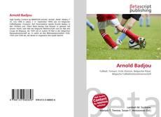 Arnold Badjou的封面