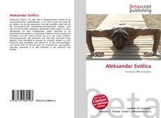 Portada del libro de Aleksandar Svitlica