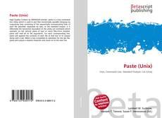 Bookcover of Paste (Unix)