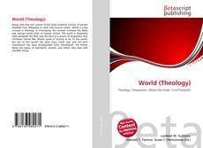 Обложка World (Theology)