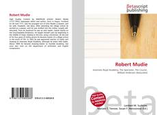 Bookcover of Robert Mudie