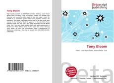 Bookcover of Tony Bloom