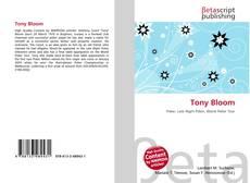 Portada del libro de Tony Bloom