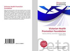 Buchcover von Victorian Health Promotion Foundation