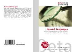 Buchcover von Karasuk Languages