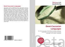 Bookcover of Dené-Caucasian Languages