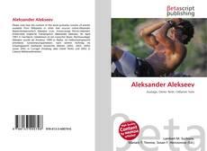 Bookcover of Aleksander Alekseev