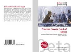 Bookcover of Princess Fawzia Fuad of Egypt