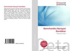 Bookcover of Ramchandra Narayan Dandekar