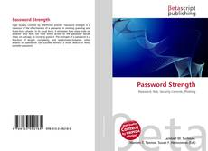 Buchcover von Password Strength