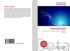 Buchcover von Password Safe