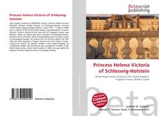 Bookcover of Princess Helena Victoria of Schleswig-Holstein