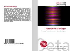Buchcover von Password Manager
