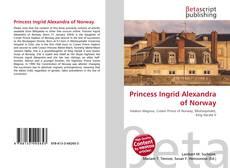 Princess Ingrid Alexandra of Norway的封面