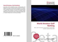 Couverture de World Amateur Golf Ranking