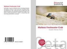 Portada del libro de Maltese Freshwater Crab