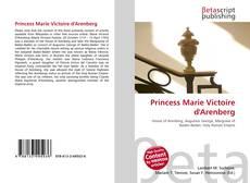 Couverture de Princess Marie Victoire d'Arenberg