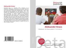Buchcover von Aleksander Knavs