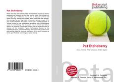 Bookcover of Pat Etcheberry