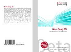 Nam Sang Mi kitap kapağı
