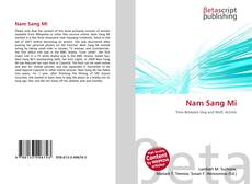 Bookcover of Nam Sang Mi